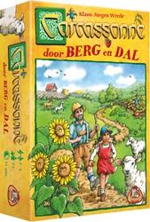 White Goblin Games spel Carcasonne Door Berg en Dal