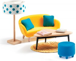Alle houten poppenhuis meubeltjes