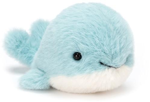 Jellycat knuffel Fluffy Walvis 10cm