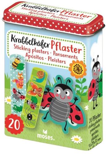 Moses Krabbelkäfer pleisters in blik