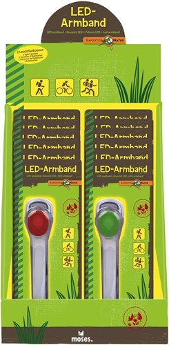 Moses Expeditie Natuur LED armband 2 assorti