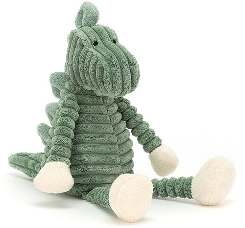 Jellycat - Corduroy Dino Baby - 34cm