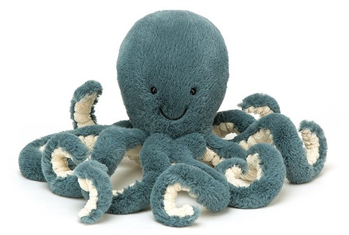 Jellycat - Storm Octopus Klein - 23cm