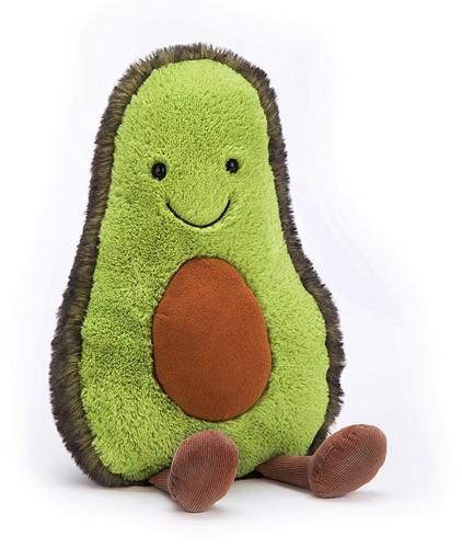 Jellycat knuffel Amuseable Avocado Heel Groot 52cm