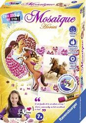Ravensburger  knutselspullen Mosaic mini Paarden