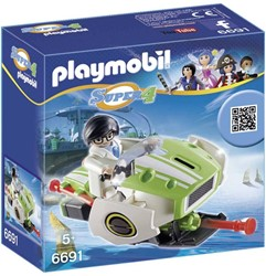 Playmobil  Super 4 Skyjet 6691