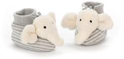 Jellycat Alfie Elephant Booties - 10cm