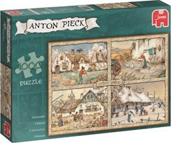 Jumbo Anton Pieck 4 Seasons - 1000 stukjes