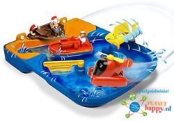 Aquaplay  Aquaplay badspeelgoed 440 Lagoon en reddingsbrigade