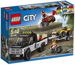 Lego  City set ATV raceteam 60148