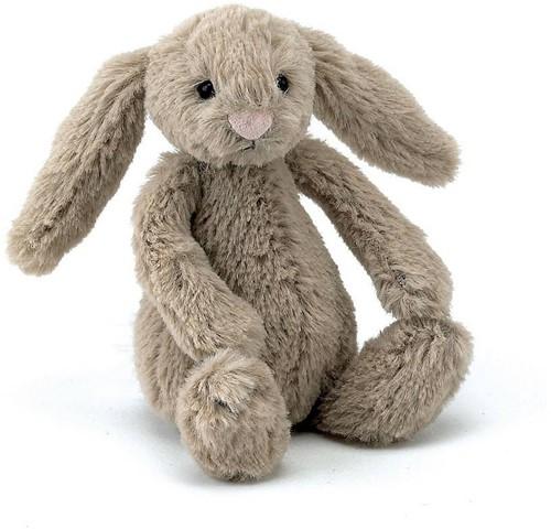 Jellycat knuffel Bashful Beige Konijn Baby - 13cm