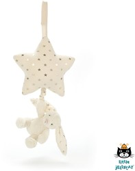 Jellycat Twinkle Bunny Musical Pull - 28 CM