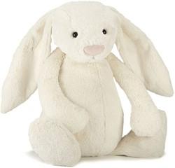 Jellycat knuffel Bashful Cream Bunny Really Big -67cm
