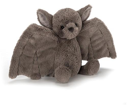 Jellycat knuffel Bashful Bat Vleermuis Klein 18cm