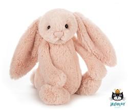 Jellycat Bashful Blush Bunny Small - 19 CM