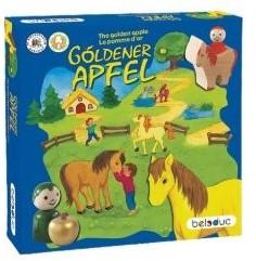 Beleduc  houten kinderspel De gouden appel