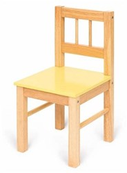 BigJigs Wooden Chair - Yellow