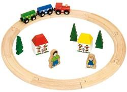 Bigjigs houten treinen