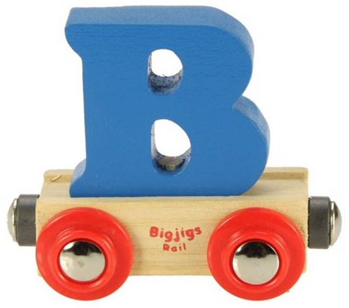 Bigjigs Lettertrein B