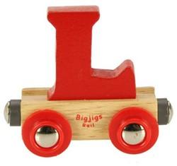 BigJigs Rail Name Letter L