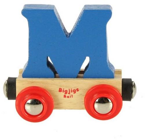 Bigjigs Lettertrein M