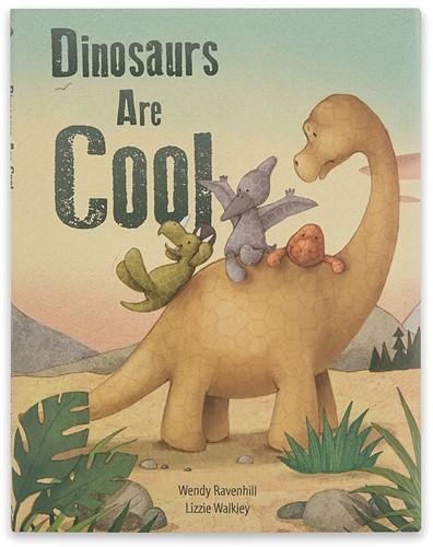 Jellycat Dinosaurussen Zijn Cool Boek