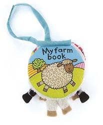 Jellycat My Farm Book - 11cm