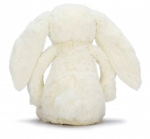 Jellycat knuffel Bloesem Bashful Crème Konijn Medium 31cm-3