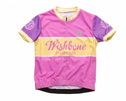 Wishbonebike  kinderkleding Wishbone Jersey roze L