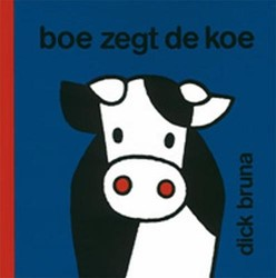 Kinderboeken  prentenboek Boe zegt de koe