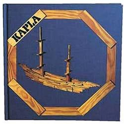 Kapla  houten bouwplankjes boek blauw vol. 2