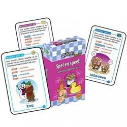 Schoolsupport leerkaarten Quiz it! Spellingraadsels vari
