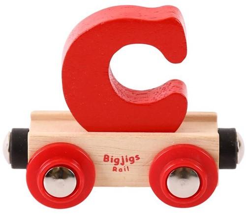 Bigjigs Lettertrein C