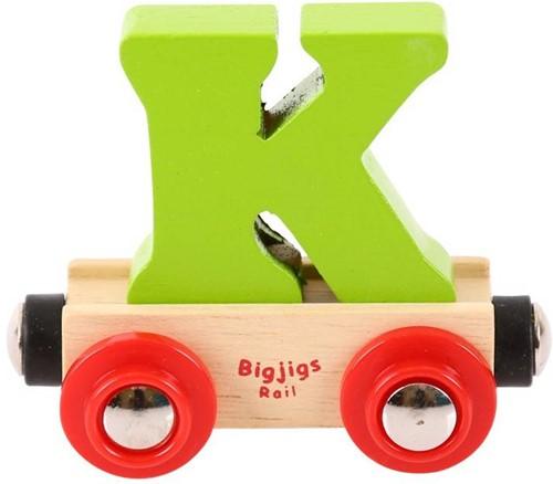 Bigjigs Lettertrein K