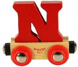 BigJigs Rail Name Letter N