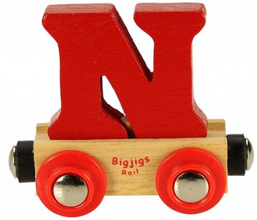 Bigjigs Lettertrein N