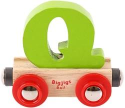 BigJigs Rail Name Letter Q, BIGJIGS, LETTERTREIN Q