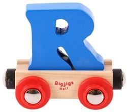 BigJigs Rail Name Letter R, BIGJIGS, LETTERTREIN R