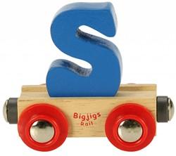 BigJigs Rail Name Letter S, BIGJIGS, LETTERTREIN S