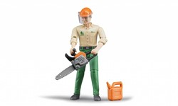 Bruder  - Forestry worker with accessories