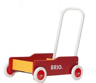 BRIO speelgoed Geel-rode loopwagen