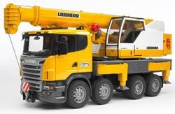 Bruder  Bouwplaats speelvoertuig Scania telescoopkraan truck 3570