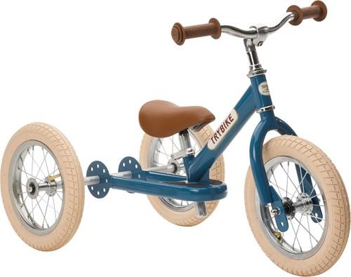 Trybike loopfiets 2-in-1 staal vintage blauw