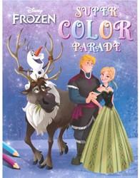 Deltas  kleurboek disney Frozen color parade
