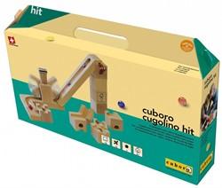Cuboro  houten knikkerbaan set Cugolino hit - 87