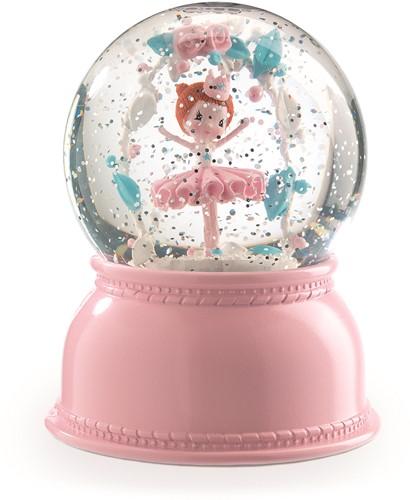 Djeco Sneeuwbol Nachtlamp Ballerina