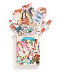 Djeco stickers 50 Nathalie