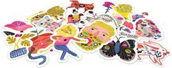 Djeco stickers 50 Sarah