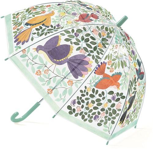 Djeco Kinderparaplu Bloemen & Vogels