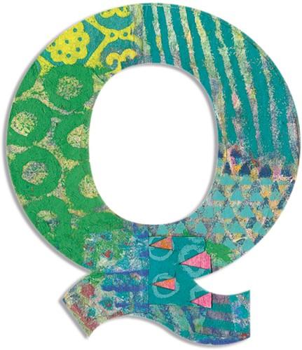 Djeco Q - Peacock letter
